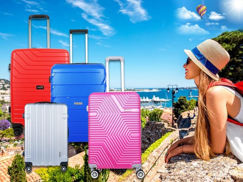 Chọn vali có kích cỡ theo yêu cầu