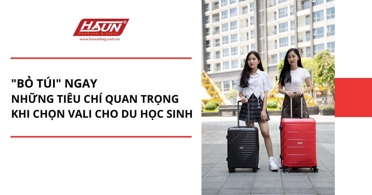 Bỏ túi bí kíp chọn vali cho du học sinh